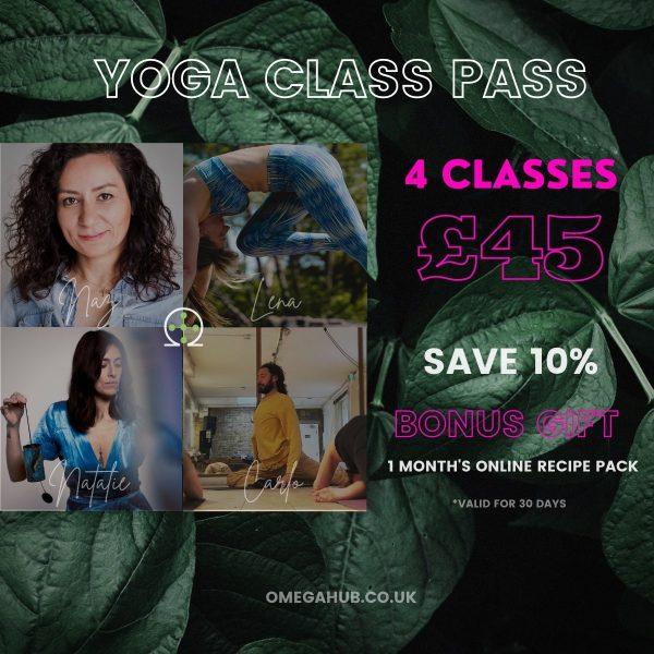 4 yoga class pass feat