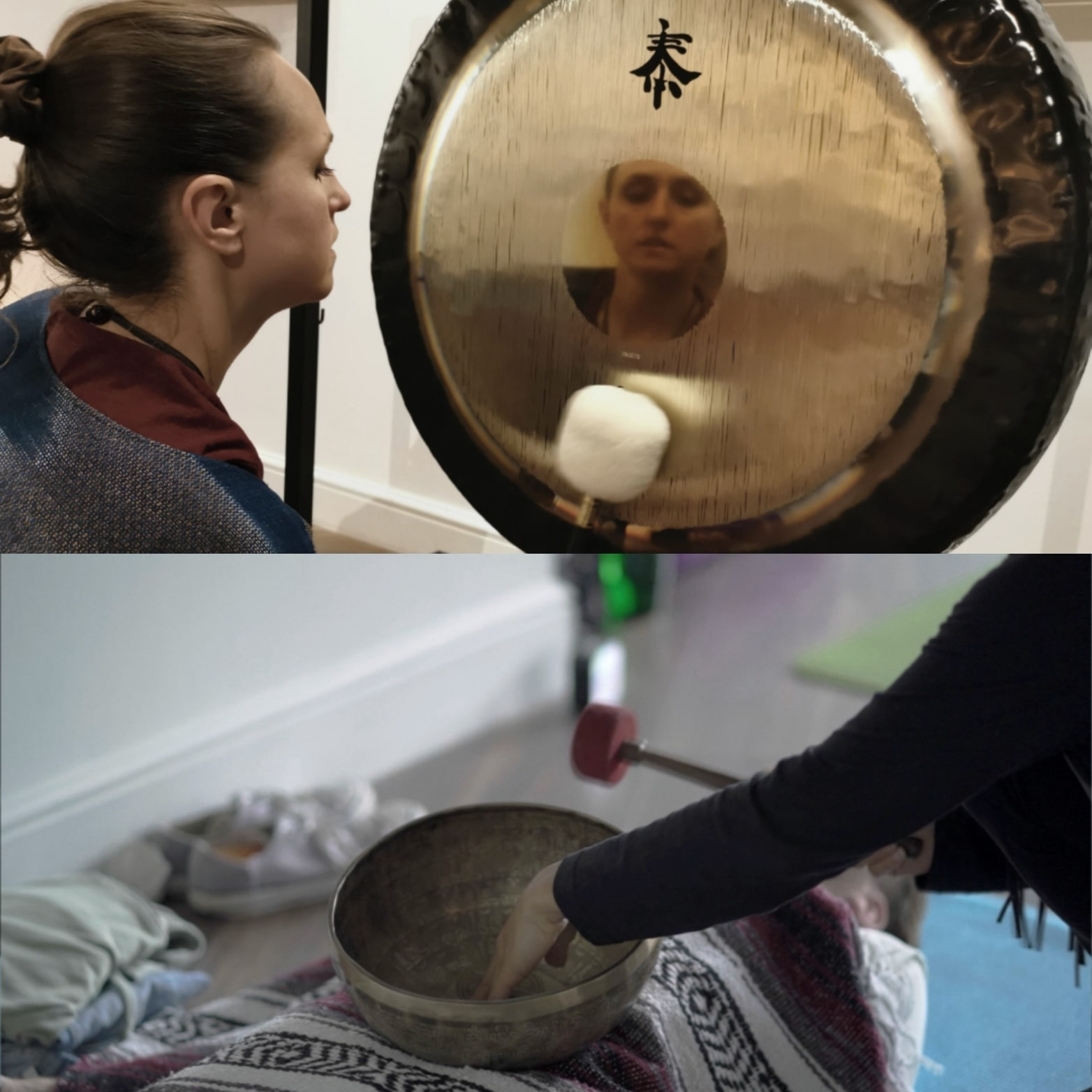 Sound bath Gong Bath Hackney Wick London